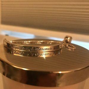 Silver Harry Potter bracelet